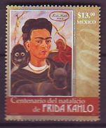 Mexico - 2007, The 100th Anniversary Of The Birth Of Frida Kahlo, 1907-1954  1v - Mint ** - Mexiko