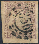 Stamp German States Bavaria 12kr 1867 Used Lot#51 - Bavaria