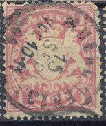 Stamp German States Bavaria 1m 1881-1906 Used Lot#56 - Bavaria