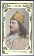 Chromo Chocolat Guerin-Boutron Livre D'or Célébrités Contemporaines 273 Ernest Van Dyck Ténor Lohengrin Opéra Wagner - Guerin Boutron