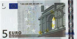 VF NOTA 5 EUROS DA FINLANDIA  J.C.T. E001 I3  L08055786083 - EURO