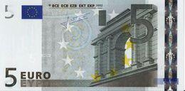VF NOTA 5 EUROS DA FINLANDIA  J.C.T. E001 B4 L08784286232 - EURO