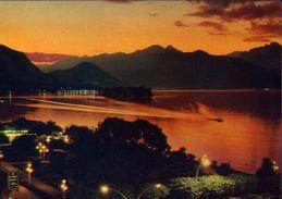 Stresa - Tramonto Sul Lago Maggiore - 140 - Formato Grande Viaggiata – E 3 - Verbania