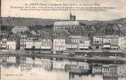 89 - JOIGNY - Le Quai De Paris, Vu De La Rive Gauche De L'Yonne - Joigny