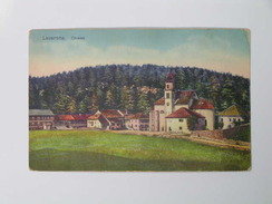 Trentino 1256 Lavarone Chiesa 1930 - Italia