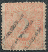 Stamp German States Hamburg 1864 Lot#13 - Hamburg