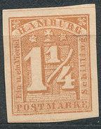 Stamp German States Hamburg 1859 Lot#16 - Hamburg