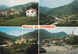 GENOVA - Saluti Da Vobbia - 4 Vedute - 1981 - Genova (Genoa)