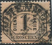 Stamp German States OFFICIAL STAMPS 1870 1gr Lot#25 - North German Conf.