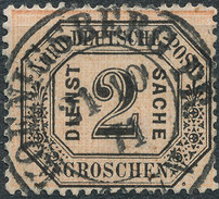 Stamp German States OFFICIAL STAMPS 1870 2gr Lot#26 - North German Conf.