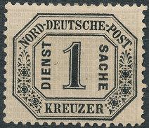 Stamp German States OFFICIAL STAMPS 1870 1kr Lot#28 - North German Conf.