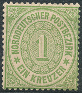 Stamp German States  1869 1kr Lot#31 - North German Conf.