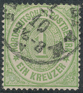 Stamp German States  1869 1kr Lot#32 - North German Conf.