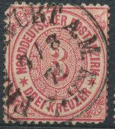 Stamp German States  1869 3kr Lot#35 - North German Conf.