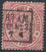 Stamp German States  1869 3kr Lot#36 - North German Conf.