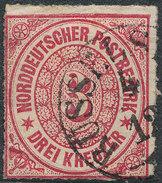Stamp German States  1868 3kr Lot#40 - North German Conf.
