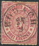 Stamp German States  1868 3kr Lot#41 - North German Conf.