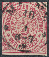 Stamp German States  1868 3kr Lot#42 - North German Conf.
