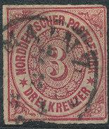 Stamp German States  1868 3kr Lot#43 - North German Conf.