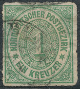 Stamp German States  1868 1kr Lot#46 - North German Conf.