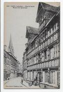 Caen - Rue De Geole. Maison Des Quatrans - Edit. Maillaut - Caen