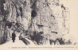 Ph-CPA Bouvante (Drome) Forêt De Lente Route Forestière De Combe-Laval La Galerie Des Trois Tunnels - Autres Communes
