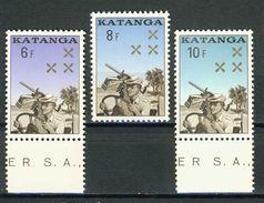 COB  79 à 81  **  (K38) - Katanga