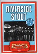 FROTH BLOWERS BREWING CO (BIRMINGHAM, ENGLAND) - RIVERSIDE STOUT - PUMP CLIP FRONT - Signs