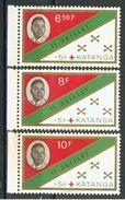 COB  66 à 68  **  (K40) - Katanga