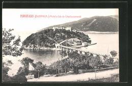 Postal Pedernales, Hotel E Isla De Chacharramendi - España