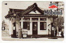 TELECARTE JAPON MOBILOIL Station Service - Olie