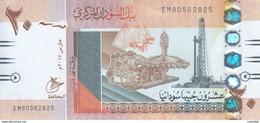 SUDAN 20 POUNDS 2017 P-74 NEW TYPE I Small Size Arabic Date Font مارس UNC - Soudan