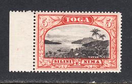 Tonga 1942 Mint Mounted, Wmk 24 Sideways, Sc# 81, SG 53a - Tonga (...-1970)