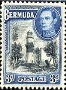 St. David's Lighthouse, Bermuda Stamp SC#121a MNH - Bermudes