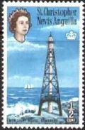 New Lighthouse, Sombrero, St. Kitts-Nevis Stamp SC#145 MNH - St.Kitts-et-Nevis ( 1983-...)