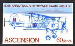 ASCENSION  310    **   BOOKLET  AERO  SWORDFISH - Ascension