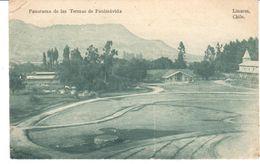 POSTAL    PANIMÁVIDA  - CHILE  - PANORAMA DE LAS TERMAS  (PANORAMA DES TERMES - PANORAMA OF THE TERMAS) - Chile