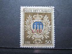 VEND BEAU TIMBRE DE SAINT-MARIN N° 275 , XX !!! - Saint-Marin