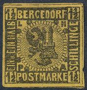 Stamp   1861 R Mint - Bergedorf