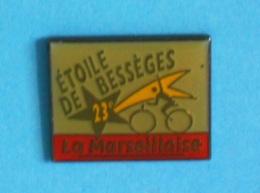 1 PIN'S //   ** 23 ème ÉTOILE DE BESSÈGES ** LA MARSEILLAISE ** - Cycling