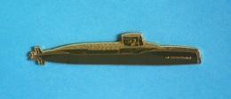 1 PIN'S //   ** LE REDOUTABLE ** S 611 SNLE ** SOUS-MARIN NUCLÉAIRE LANCEUR D'ENGINS ** . (J.Y. Segalen Collection) - Militaria
