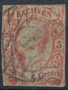 Stamp   1855 5ng  Mint - Saxony