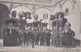 BE17-  BURGOS  EN ESPAGNE  LOS GIGANTONES - Burgos