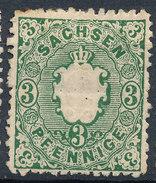 Stamp   1863 1/2ng  Mint - Saxony