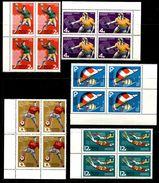 Russia.USSR 1968 Mi 3512-3516 MNH ** Sport Games - 1923-1991 USSR