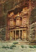 Petra (Jordan, Giordania) Pharaoh's Tresaure House, Tresor Du Pharaon, Casa Del Tresoro - Giordania