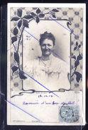 REINE DE SAX 1900 PHOTO CARTE - Allemagne