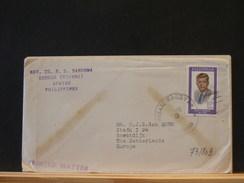 73/803  LETTRE  PHILIPPINES - Kennedy (John F.)