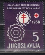 Yugoslavia,TBC 1958.,MNH - Unused Stamps