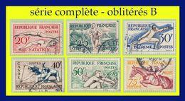 N° 960 À 965 JEUX OLYMPIQUES D'HELSINKI 1953 - OBLITÉRÉS B / TB - - Oblitérés